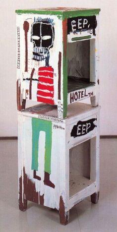 36 Basquiat sculpteur 1985 Sans titre Setagaya Art Museum Toky Jean Michel Basquiat Art, Jm Basquiat, Basquiat Artist, Robert Rauschenberg, Andy Warhol, Keith Haring, Pablo Picasso, Sandro Chia, Cy Twombly
