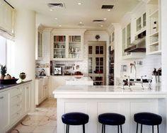 Kitchens in White