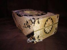 Box for handkerchiefs Handmade
