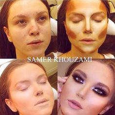 Så meget kan make-up gøre!