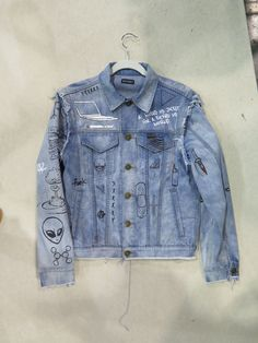 Brand C2H4 does personalized denim with a rebellious-bold attitude-spotted at Liberty Fairs tradeshow