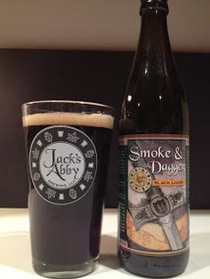 Jack's Abby - Smoke & Dagger ~ Yes this is a beer but they really use Jack's Abby Brewer Blend Coffee from Red Barn - NOW available online.