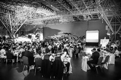 Wedding reception at Museum of aviation - Ottawa Ontario, Canada