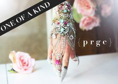 The Princess Hand Bracelet with attached Filigree Ring and 1 Claw Ring(included) Read full description below.***  PLEASE READ EVERYTHING BEFORE MAKING YOUR PURCHASE.  IMPORTANT: THIS ITEM SHIPS WITHIN 1-2 WEEKS. PLEASE ALLOW TIME FOR PRODUCTION. WE ASK THAT YOU PLAN YOUR PURCHASE ACCORDINGLY. YOU WILL BE NOTIFIED VIA EMAIL ONCE THE ITEM DISPATCHES FROM OUR STUDIO. WE HAVE A NO RETURN/NO EXCHANGE POLICY-PLEASE ASK QUESTIONS BEFORE MAKING YOUR PURCHASE. STANDARD FIRST CLASS SHIPPING is inc...