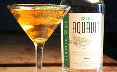 Dill Martini | Dill Aquavit Recipes | Gamle Ode Cocktails
