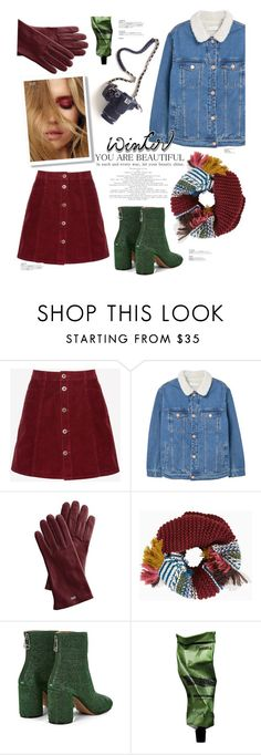 """winter is here!"" by anja-m ❤ liked on Polyvore featuring Jack Wills, MANGO, Mark & Graham, BCBGMAXAZRIA, Maison Margiela, Aesop, contest, denim, scarf and winteressentials"