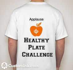 2015 Healthy Plate Challenge! presented by http://getapplause.com/blog/2015/01/27/healthy-plate-challenge/. Submit your ideal healthy plate and win prizes to this facebook wall > https://www.facebook.com/GetApplause or your instagram. Also, the first 10 to submit a photo win a shirt.