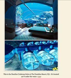 underwater hotel? hell yes.