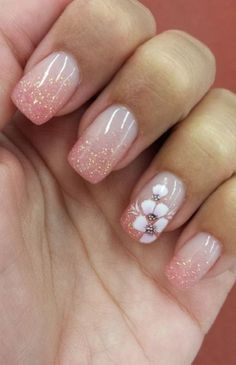 pink  nail art 17 - 65 lovely Pink Nail Art Ideas   <3