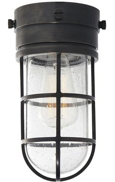 Darkness falls.Here are 10 of our favorite black porch ceiling lights that keep a low profile (with either a flush or semi-flush mount) at prices fro