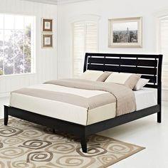 Olivia Queen Bed in Black