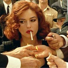 Moviesalbum bellucci bellucci monica red belluci hair