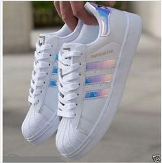 6e18a79c84cc32 Adidas Women Shoes - Adidas Fashion Reflective Shell-toe Flats Sneakers  Sport Shoes ADIDAS Womens Shoes - - We reveal the news in sneakers for  spring summer ...