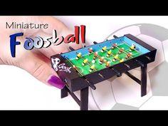 Miniature Foosball Tutorial (Working) // Table Soccer Tutorial - YouTube