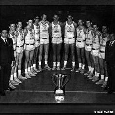 La Triple corona de Baloncesto (1961-1970)   Real Madrid Baloncesto