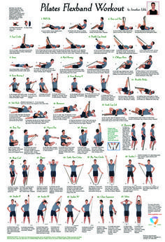 """Color illustrated poster with a complete workout of twenty-seven different Pilates exercises. Made of aqueous paper that holds up to folds without ripping and resists smudges. Comes in re-sealable plastic bag for easy travel. Dimensions: 17""""x 25"""""""