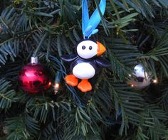 Arctic Puffin ornament inspired by Elf on Etsy