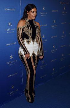 Kim Kardashian's Outfit Last Night Is the Stuff of Legends