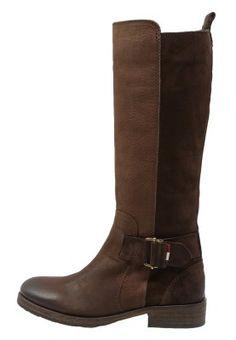 AVIVE - Cowboy/Biker boots - coffee bean