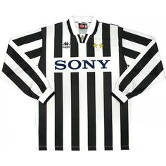 34a337da6 1995-97 Juventus Home L S Shirt  9 (Vialli) (Fair) XL