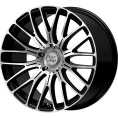 INOVIT VORTEX BLACK MACHINED FACE alloy wheels with stunning look for 5 studd wheels in BLACK MACHINED FACE finish with 19 inch rim size
