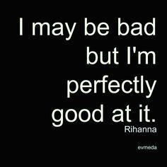 "Rihanna lyrics in ""S&M"""