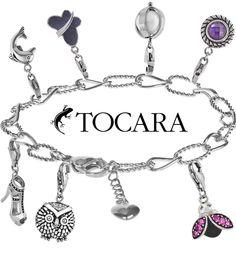 Bling Bling !! #Bracelet #Tocara #Justine.  Get Justine Bracelet and choose from a large inventory of Charms at https://www.tocaraplus.com/sylviedenault/IndvItem.asp?InventoryID=2574&language=eng