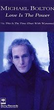 """For Sale - Michael Bolton Love Is The Power Japan Promo  3"""" CD single (CD3) - See this and 250,000 other rare & vintage vinyl records, singles, LPs & CDs at http://eil.com"""
