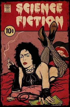 BROTHERTEDD.COM - horrorandhalloween: by Anderson Green Devil Rocky Horror Show, The Rocky Horror Picture Show, Pulp Fiction, Horror Art, Horror Movies, Comedy Movies, Horror Music, Horror Vintage, Mode Pin Up