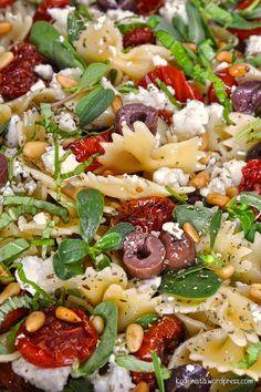 Roasted Tomato Pasta, Tomato Pasta Salad, Cherry Tomato Pasta, Roasted Cherry Tomatoes, Orzo, Quinoa, Feta, Pomegranate Salad, Salad Bar