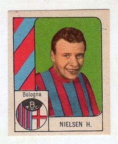 [lc44] Figurina Calciatori Nannina Gol Bologna Nielsen H.