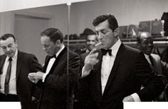 Frank Sinatra and Dean Martin, photo by Sammy Davis Jr. | Wonderful Photos of Famous People Snapped By Their Famous Friends