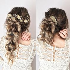Wedding Hairstyle Inspiration - tabitth