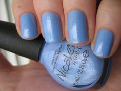 Nicole by OPI Nothing Kim-Pares to Blue