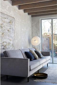 Wat: Rodeo Velvet bank 3-zits Ontwerper/fabrikant: Be Pure Herkomst: Nederland Materiaal: Velours (fluweel) Prijs: € 899,-