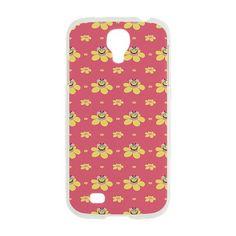 #Pink Happy Cartoon Bee #Pattern Samsung Galaxy S4 Case on CafePress.com $19.95 #galaxys4