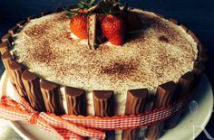 Kochhandwerk - Erdbeere - Yogurette - Torte