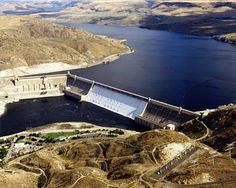 Grand Coulee Dam, WA - one of the largest concrete structures in the world and a darn good laser show on summer nights.