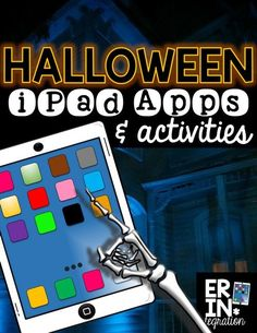 Halloween apps and activities for the iPad in the elementary classroom. Check out these 5 creative ways to integrate iPads into Halloween and October plans!  Plus a FREE download at the link.