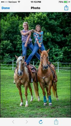 i would wear my skinny ripped jeans and a rlly cute aero hoodie and sneakers who needs fancy stuff? i can even go bareback with my horse. like serious… – Best Friends Forever Cute Horse Pictures, Horse Senior Pictures, Bff Pictures, Horse Photos, Best Friend Pictures, Cute Horses, Horse Love, Beautiful Horses, Animals Beautiful