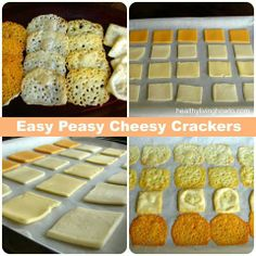 Easy Peasy Keto Cheese Crackers Cheese Chips at home. My son loves these and this is a quick and easy way to make a bunch. Great for get togethers too. Low Carb Keto, Low Carb Recipes, Real Food Recipes, Snack Recipes, Cooking Recipes, Yummy Food, Diet Recipes, Zoodle Recipes, Healthy Recipes