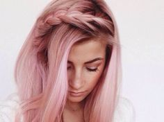Rose gold is my bold hair color!! I have been thinking about this color love it...maybe this summer