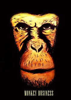 Monkey Business Art Print by LegionFive | Society6