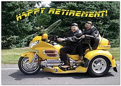 Happy Retirement Greeting Card 974D-Y
