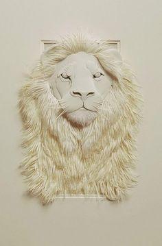 Creative Paper Sculptures By Calvin Nicholls