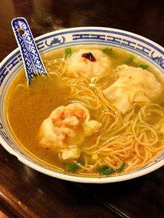 Wonton Mein - where to find the best in #HongKong