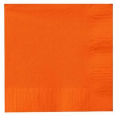"""Beverage Napkin 50-Pack: Sunkissed Orange by Creative. $1.99. Brand New Item / Unopened Product. Creative Expressions. BN-9352. 073525623528. Beverage Napkins. This package contains 50 beverage napkins approximately 4-1/2"""" x 4"""" for parties! These napkins are available in a variety of colors, each sold separately. Look for coordinating plates, cutlery, cups and more. Made in USA.. Save 17%!"""