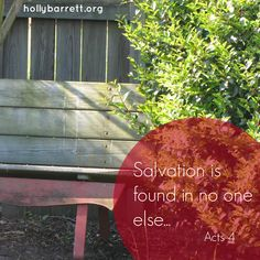 Are you sitting on the good news? www.hollybarrett.org