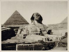 The Sphinx of Giza -- Its Nose, Lips, Gender, and Ethnicity -- www.SphinxOfGiza.com 1929