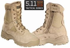 Mens ATAC Coyote Tactical Boots - Tan Side Zip Field Duty Work Boot - Real Time - Diet, Exercise, Fitness, Finance You for Healthy articles ideas 511 Tactical Boots, Tactical Wear, Tactical Clothing, Tactical Pants, 5.11 Tactical Series, Men's Shoes, Shoe Boots, Survival Clothing, Tac Gear